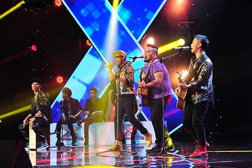 """X-Factor: F-Band gây """"sốt"""" với Chuồn chuồn ớt-5"""