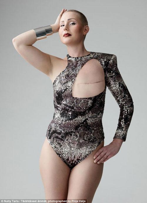 Sốc với áo tắm dành cho phụ nữ ung thư vú - 8