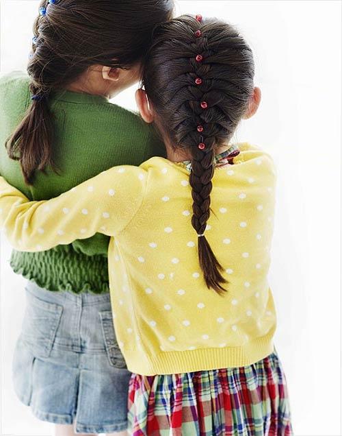 Cập nhật style tóc xinh cho bé gái ngày hè - 1