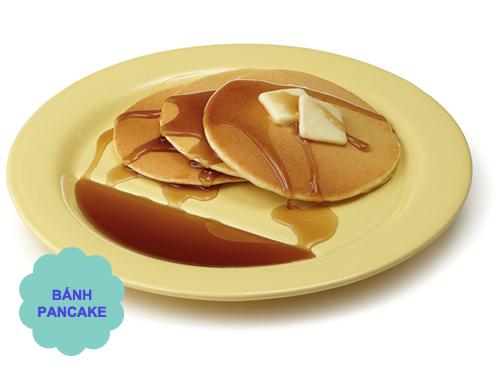 tu lam banh pancake chay cuc de - 6