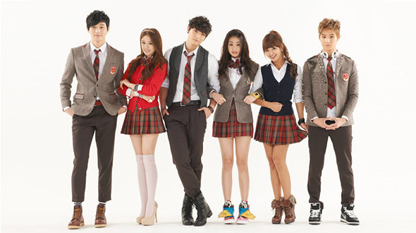 my nhan dream high 2 sexy voi vay ngan - 9