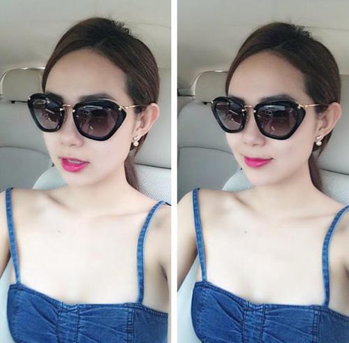 Sao Việt chống nóng bằng áo 2 dây sexy - 10