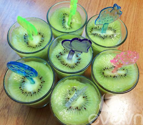 kem kiwi xanh mat da khat ngay he - 8