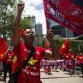Tin tức - Hong Kong: Biểu tình chống giàn khoan TQ ở Biển Đông
