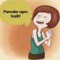 Tự làm bánh pancake chay cực dễ