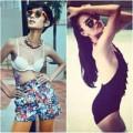 Thời trang - Sao Việt phô diễn ngực phẳng lỳ với bikini