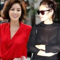 """Làng sao - """"Mẹ Kim Tan"""" sexy với áo xuyên thấu"""