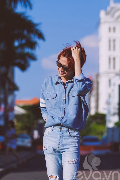 Thời trang đường phố nữ tính của Đào Bá Lộc - 5