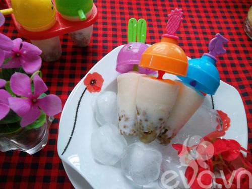 Kem đậu xanh mát lạnh ngày hè - 11