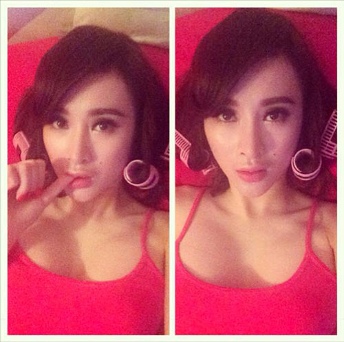 angela phuong trinh lo chiec mui khac la - 4