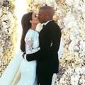 Làng sao - Cận cảnh ảnh cưới của Kim Kardashian