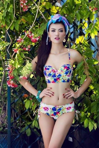 """Hồng Quế """"đốt cháy"""" mùa hè với bikini rực rỡ - 5"""