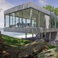 Nhà đẹp - Biệt thự kính lửng lơ kiêu sa ngắm biển