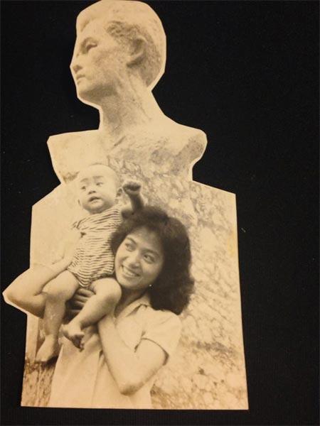 Lộ ảnh Quốc Trung hồi bé giống hệt con gái - 9