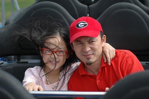 Lộ ảnh Quốc Trung hồi bé giống hệt con gái - 5