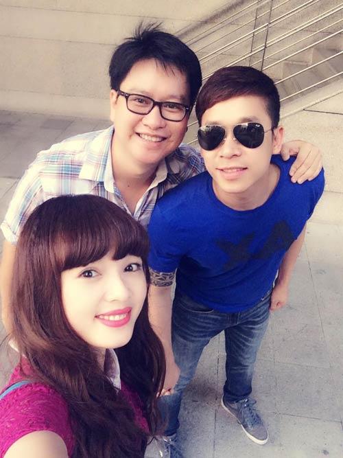 le hoang du hi singapore cung ban gai hot girl - 3