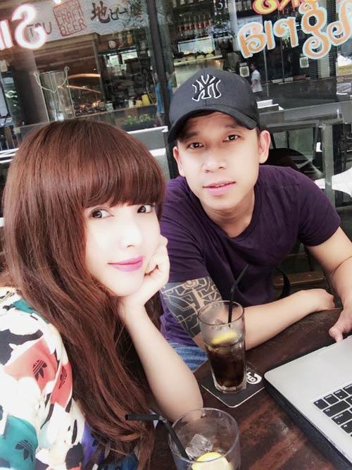 le hoang du hi singapore cung ban gai hot girl - 6