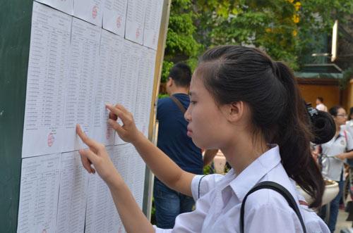 sang nay, hon 900.000 thi sinh lam thu tuc thi tot nghiep - 1