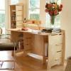 Tận dụng triệt để không gian dưới bàn làm việc