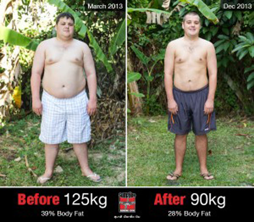 giam 50kg, khong duoc len may bay o thai - 1