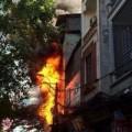 Tin tức - Chập điện, cháy lớn ở quận Thanh Xuân