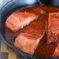 Bếp Eva - Cá hồi sốt cà chua ăn cùng cơm trắng