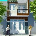 Không gian đẹp - Xây 90m2 nhà Hà Nội xanh mát, hiện đại