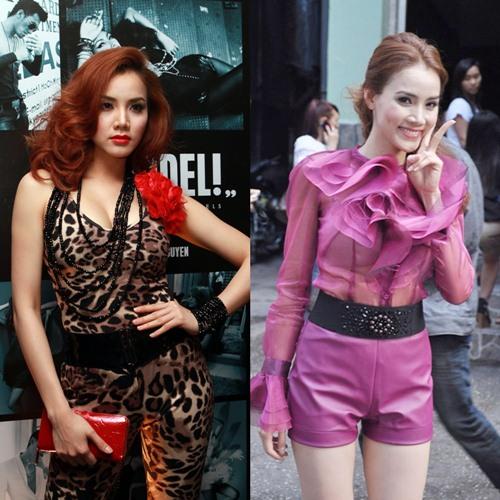 """top 5 my nhan viet van """"sen"""" theo nam thang - 5"""