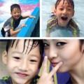 Làng sao - Jennifer Phạm trẻ trung bên con trai Bảo Nam