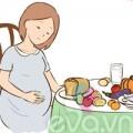 Bà bầu - Thực phẩm tốt và cấm kỵ cho bà bầu