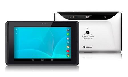google cong bo ban thu nghiem tablet project tango - 1