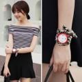 Thời trang - Đồng hồ đeo tay kết hợp với phụ kiện cực chất