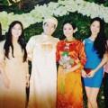 Làng sao - Cô dâu Tôn Nữ Na Uy đẹp giản dị trong lễ cưới