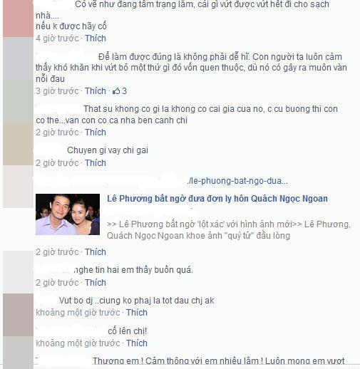 """le phuong: """"vut bo la giai thoat"""" - 2"""