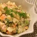 Bếp Eva - Salad củ quả làm bữa cơm thêm cuốn hút
