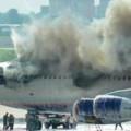 Clip Eva - Phi cơ Nga bốc cháy giữa sân bay