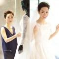 Người nổi tiếng - Trà My Idol thử váy cưới trước ngày kết hôn