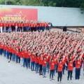 Làng sao - 100 sao Việt hòa giọng Những trái tim Việt Nam