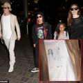 "Làng sao - Eva ""soi"" 9/6: Brad Pitt mặc áo con gái vẽ tặng"