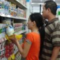 Mua sắm - Giá cả - Giá sữa tại nhiều siêu thị bắt đầu giảm
