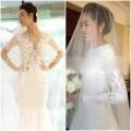 Thời trang - Soi váy cưới trăm triệu của người đẹp showbiz Việt