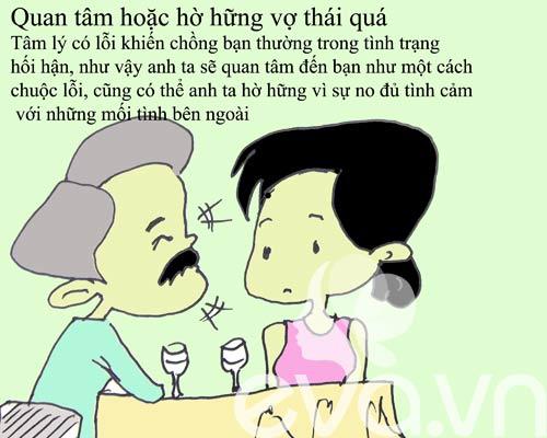 9 dau hieu chung to chong ngoai tinh - 6