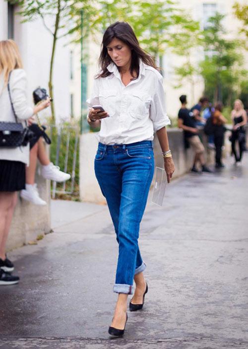 7 bi quyet dien quan jeans thanh lich noi cong so - 5