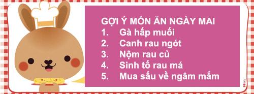 bua com  voi suon non ham coca, canh muop - 4