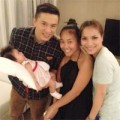 Làng sao - Lam Trường thích thú bế con gái Đoan Trang