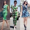 Thời trang - Sao Việt phải lòng họa tiết nhiệt đới ngày hè