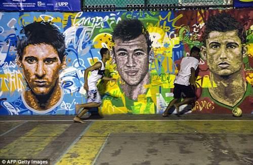 ngam duong pho brazil ruc ro mua world cup - 1