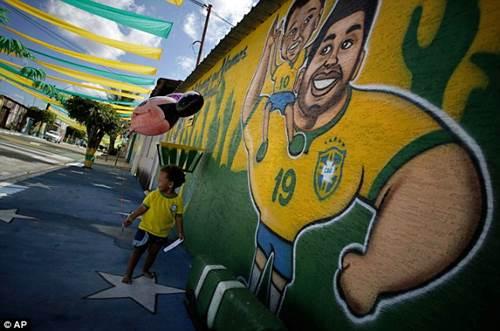 ngam duong pho brazil ruc ro mua world cup - 5