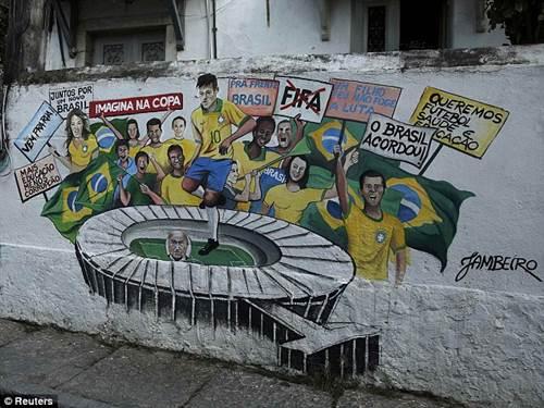 ngam duong pho brazil ruc ro mua world cup - 8