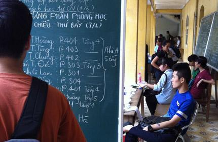 on thi dai hoc cap toc: lang phi thoi gian, tien bac - 1